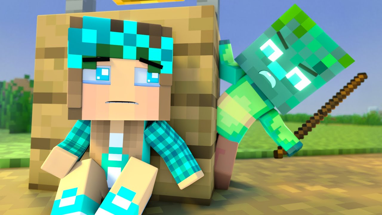 The minecraft life of Steve and Alex | Drowned | Minecraft animation