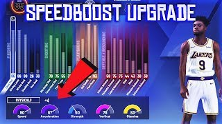 HOW TO UPGRADE PHYSICAL STATS IN NBA 2K20 (SPEED, ACCELERATION, VERTICAL & STAMINA)