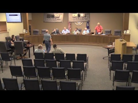 County Council Meeting August 15, 2017
