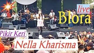 "Nella Kharisma "" Pikir Keri "" Live Lapangan Golf Blora"