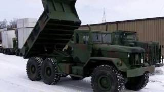 M817 Cummins 5 Ton 6X6 Dump Truck