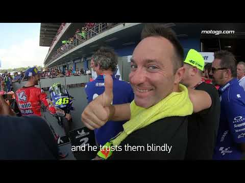 GoPro™: Meet Max Montanari, assistant to Valentino Rossi