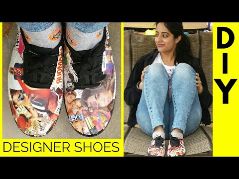 DIY – UNISEX DESIGNER SHOES!😱
