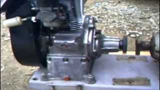 Motopompe ROTOBLOC avec moteur Bernard W110 ter 5cv