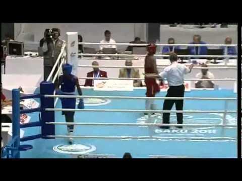 Light (60kg) Finals - Lomachenko Vasyl (UKR) VS Toledo Yasnier (CUB) - 2011 AIBA World Champs
