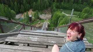 Weekly vlog #17: Climbing the old ski jump tower