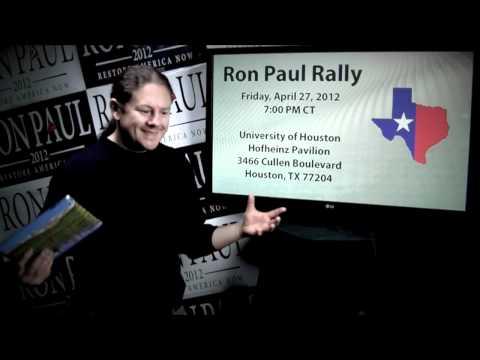Ron Paul FLIX Daily News - Apr 24 2012 - Help Ron Paul In Texas - Obama @ CU Boulder