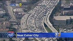 'Terrible Tuesday' Traffic On 405 Freeway