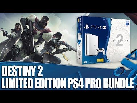 Destiny 2 - Glacier White 1TB PS4 Pro Bundle