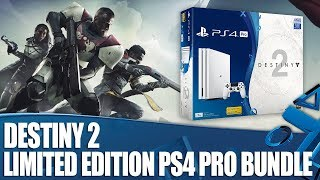 Destiny 2 - Glacier White 1TB PS4 Pro Bundle