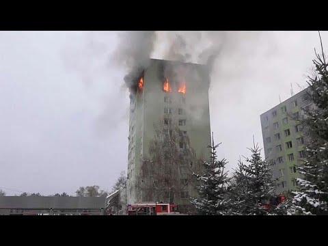 Словакия: взрыв газа