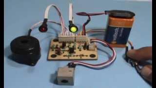 Circuito Probador de Control Remoto.  Proyecto.