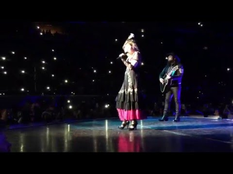 Madonna sings Crazy For You in Manila - Rebel Heart Tour 2016 - WHOLE SONG HD