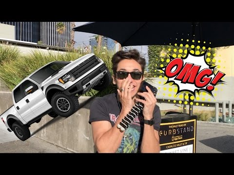 SURPRISING MY BEST FRIEND WITH A TRUCK!!