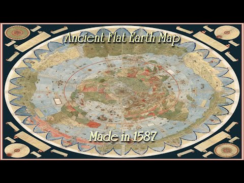 Has an ancient AE Circular Flat Earth Map Just Been Discovered?