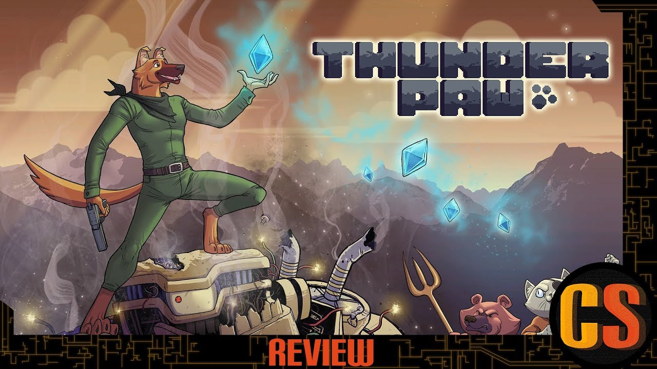 THUNDER PAW - PS4 REVIEW (Video Game Video Review)