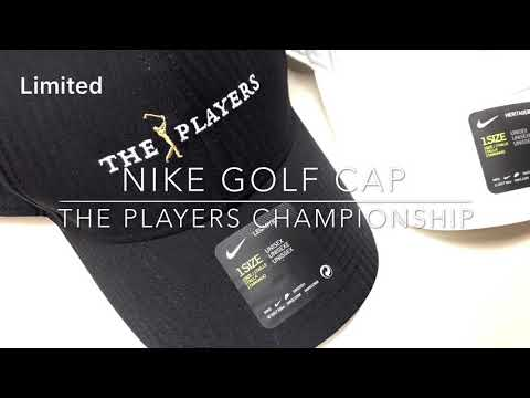 The players championship PGA tour nike golf hat 플레이어스 챔피언십 나이키 골프모자 golf gear