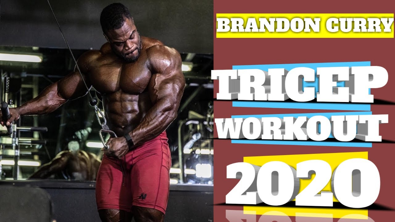 Brandon Curry Tricep Workout 2020 YouTube