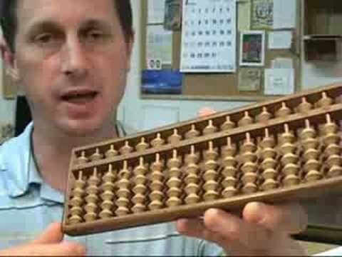 Antique Japan Abacus - Soroban Wooden Calculating Tool