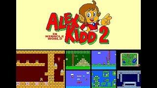 Alex Kidd In Miracle World 2 Final Versión