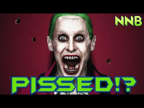 Jared Leto PISSED Over Suicide Squad?!