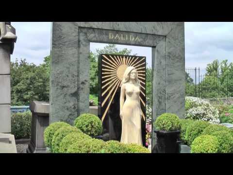 Dalida cimetière Montmartre Paris juin 2010