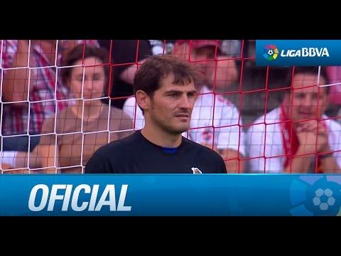 Todos los lanzamientos de la tanda de penaltis entre Porto FC y Valencia CF