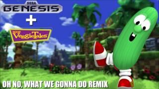 VeggieTales Oh No What We Gonna Do Sega Genesis Remix