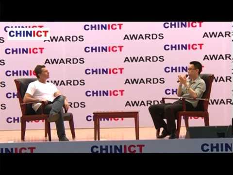 iQIYI's VP Yipeng Li talks with Franck Nazikian, founder of CHINICT.