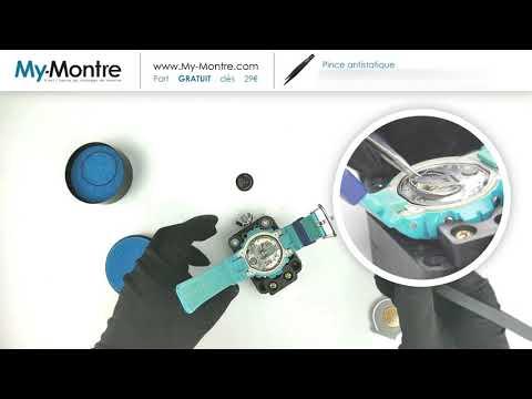 My-Montre.com - Remplacer Pile Lithium Sur Montre Casio G-SHOCK