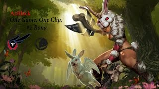 One Game. One Clip #1 Rona ~ Vainglory ~ AzBlack