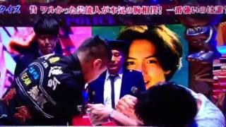 芸能人元ヤン腕相撲対決! 保阪尚希 動画 15