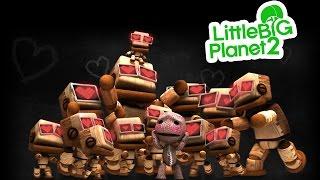 Прохождение LittleBigPlanet 2 - The Factory of a Better Tomorrow (Фабрика лучшего завтра) с Настей