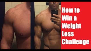 How to Win a Weight Loss Challenge