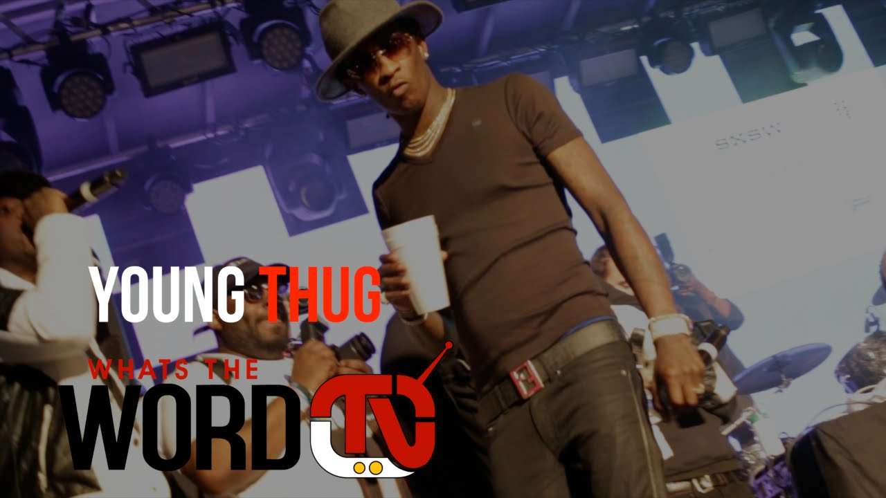 """Download Young Thug Performs """"Best Friend"""" at SXSW 2016"""
