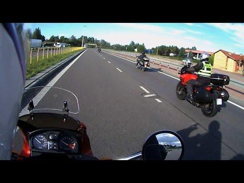 LITWA Na Motocyklu Przez MAZURY 2014 (polecam HD)