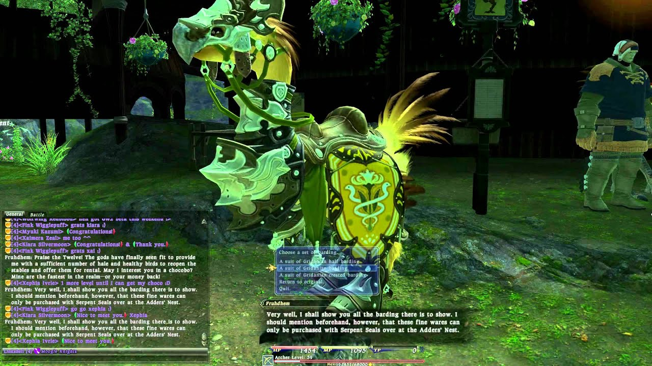 20 Ffxiv Chocobo Barding List Pictures And Ideas On Meta Networks