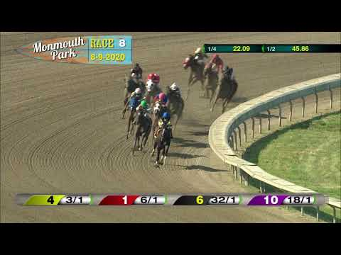 video thumbnail for MONMOUTH PARK 08-09-20 RACE 8