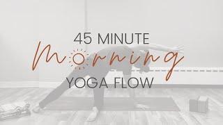 45 Minute Gentle Morning Yoga Flow