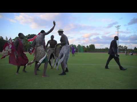 South Sudanese Dinka Wrestling Tournament 2016