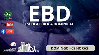 ???? Live Escola Dominical dia 13/09/2020