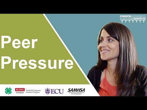 How Parents Might Help Kids Resist Pressure From Peers
