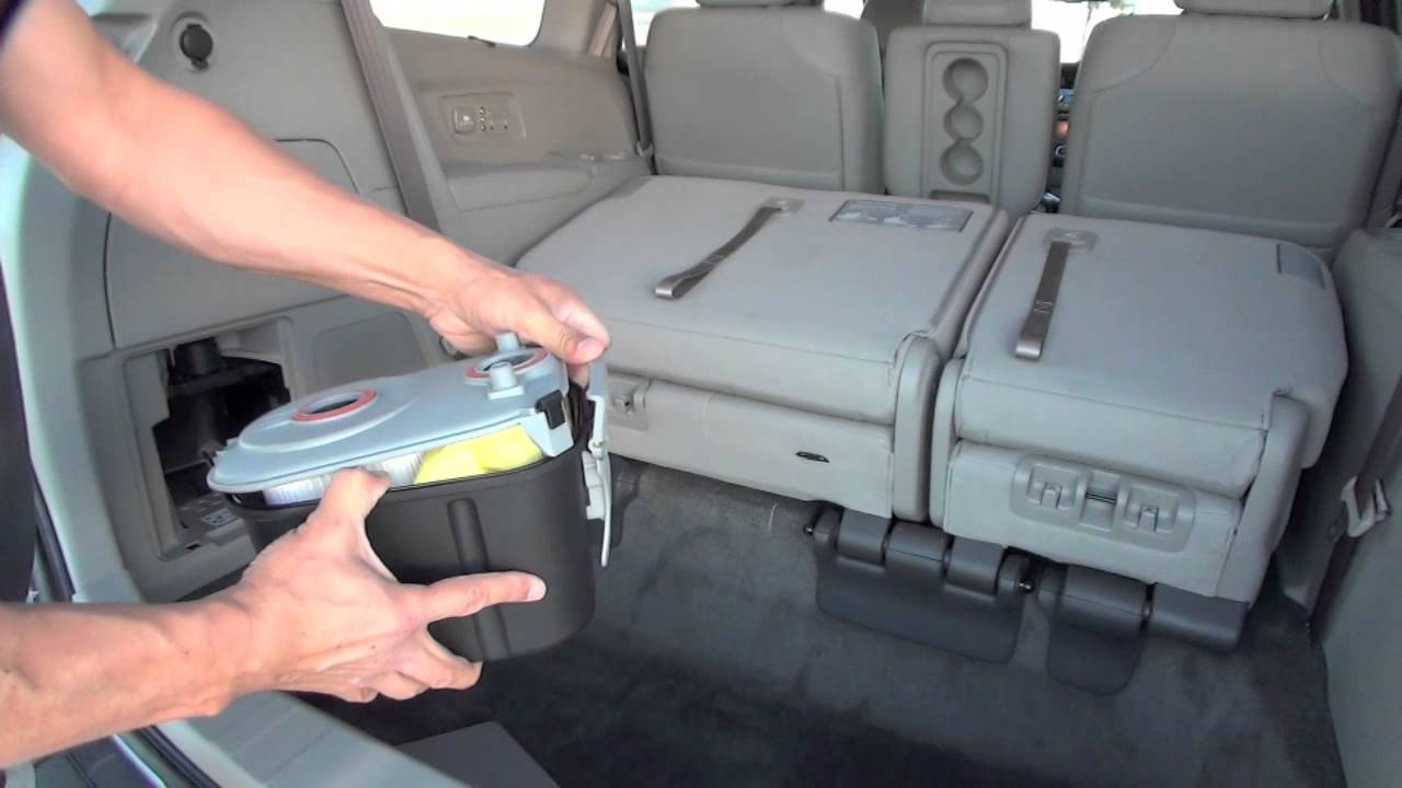 2014 Honda Odyssey Touring Elite U00ae With Hondavac U2122  The First In-car Vacuum