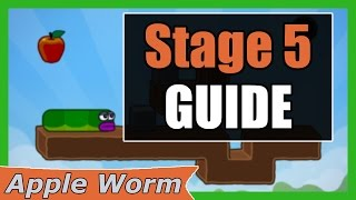 Apple Worm Level 5 Guide