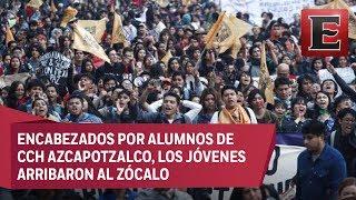Concluye en orden 'Marcha del Silencio'; reúne a 23 mil estudiantes