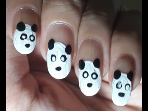 Nail art easy panda nail art ars arts panda nail design nail art easy panda nail art ars arts panda nail design cute panda nails prinsesfo Images