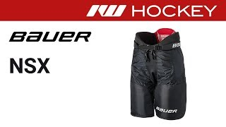 Bauer NSX Hockey Pant Review