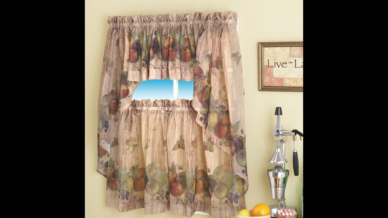 Marburn Kitchen Curtains: Making Your Kitchen Distinct