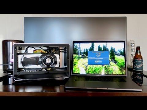 macOS GTX 1080 Ti eGPU + Late 2016 15 MacBook Pro