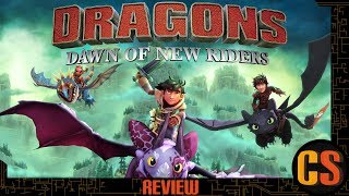 DREAMWORKS DRAGONS: DAWN OF THE NEW RIDERS - REVIEW (Video Game Video Review)